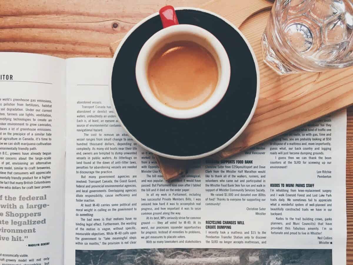 Przegląd prasy i poranna kawa