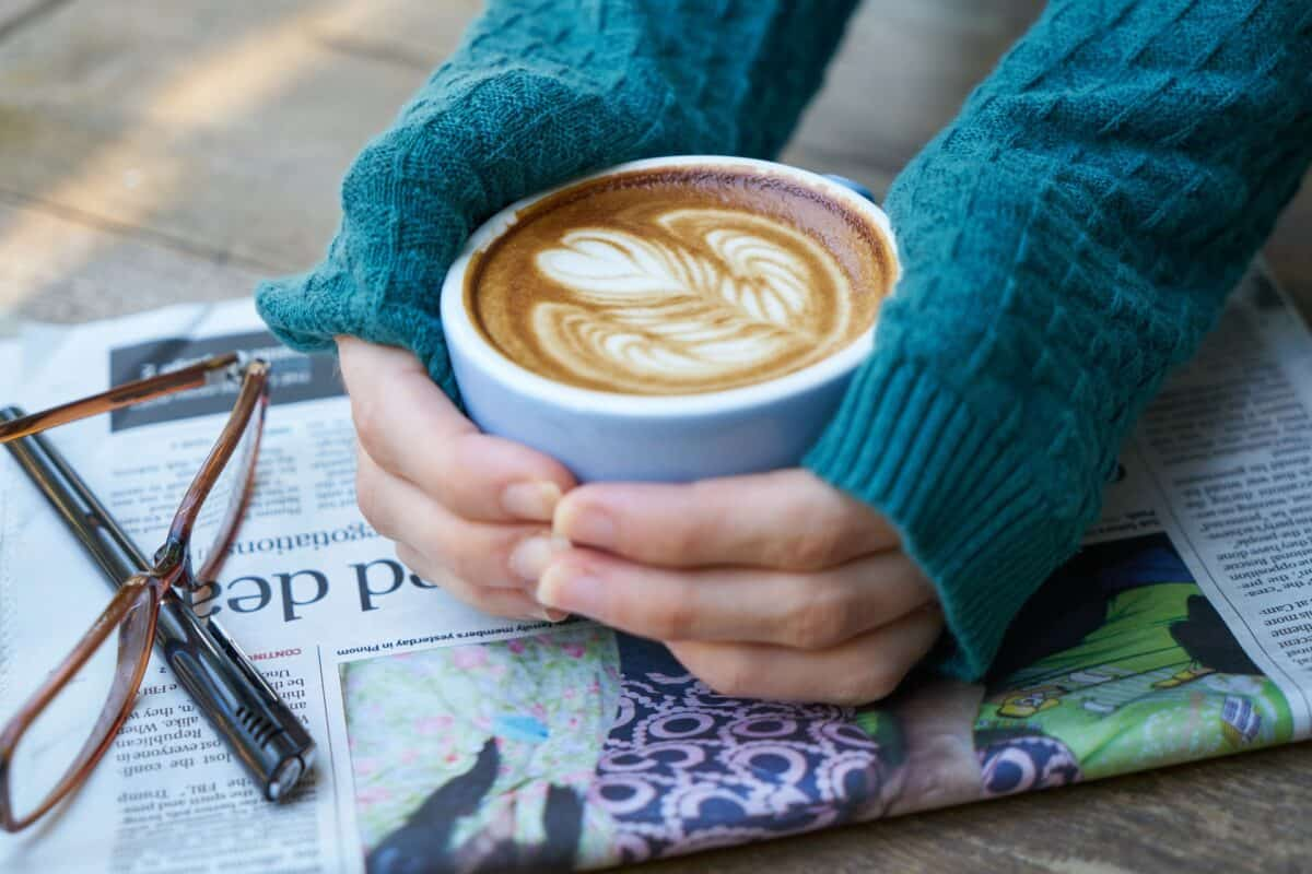Kawa w zimie