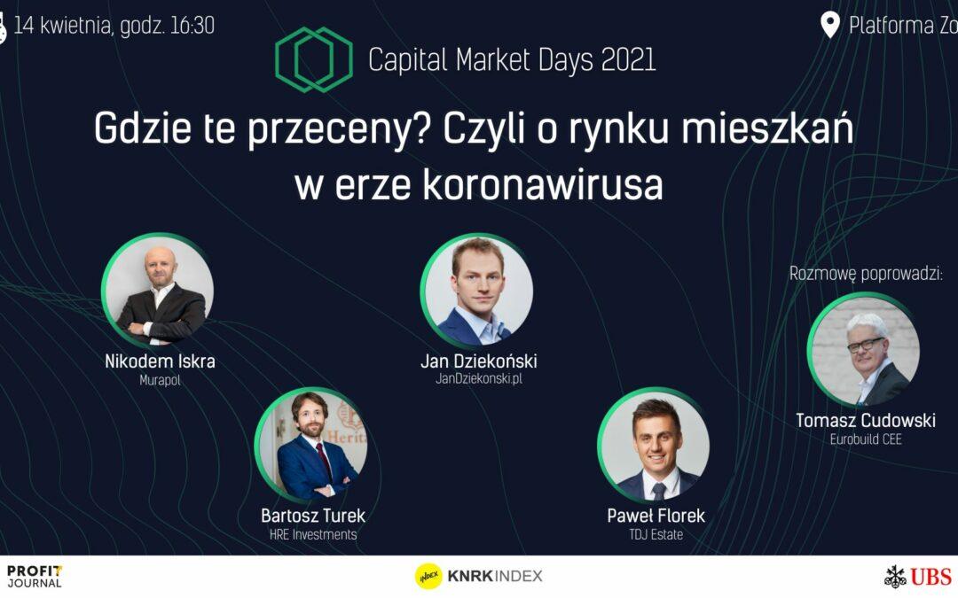 """Zobaczmy się na """"Capital Market Days 2021"""" (14.04.2021 – NAGRANIE)"""